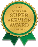Super Service Award by Angie's List