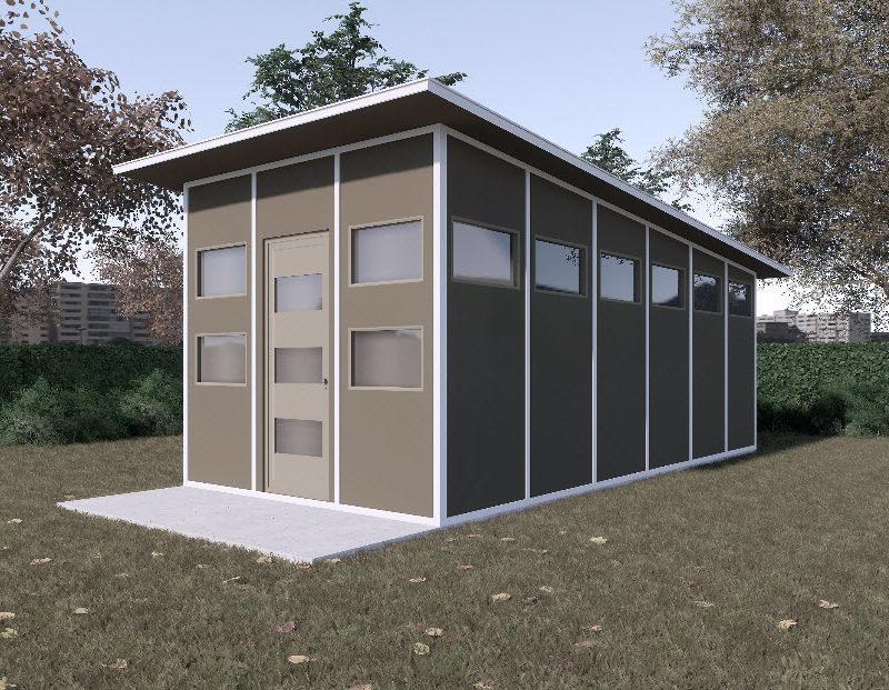 Blockhouse Shed