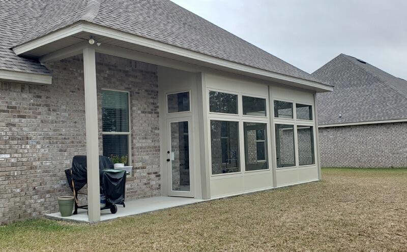 Glass Patio Enclosure Pensacola FL