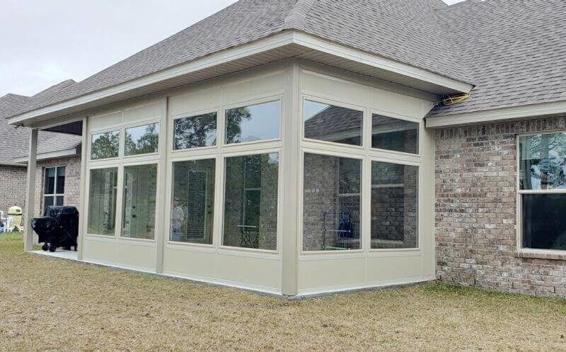 Glass Sunroom Patio Enclosure in Destin FL