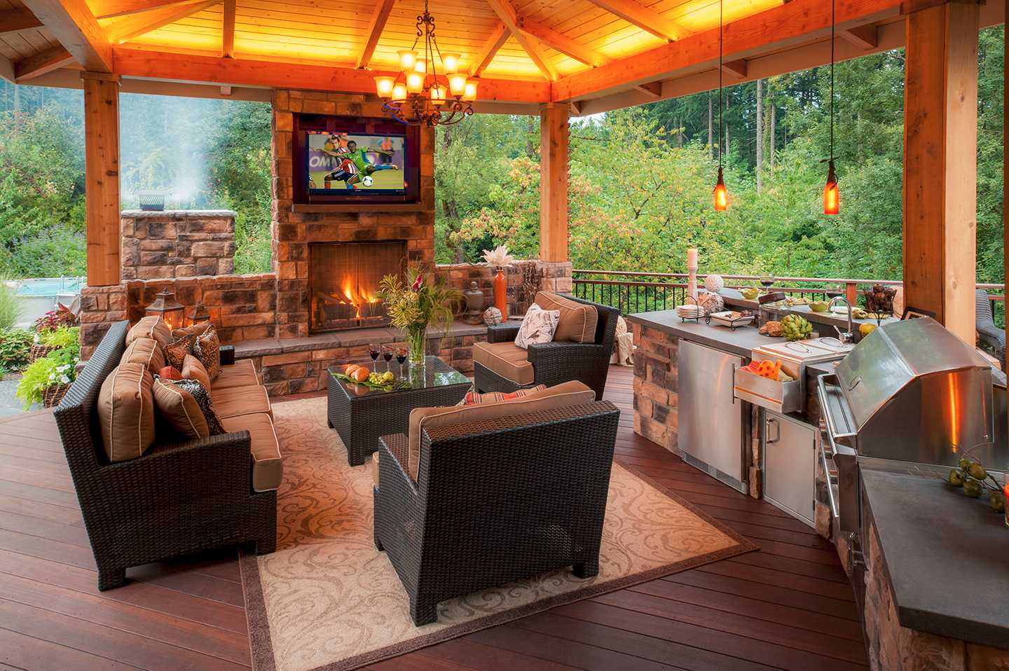 How to Build an Amazing (and affordable) Outdoor Kitchen