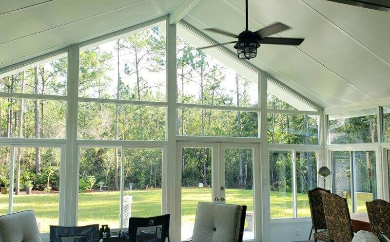 Sunroom w Cathdral Roof Pensacola FL