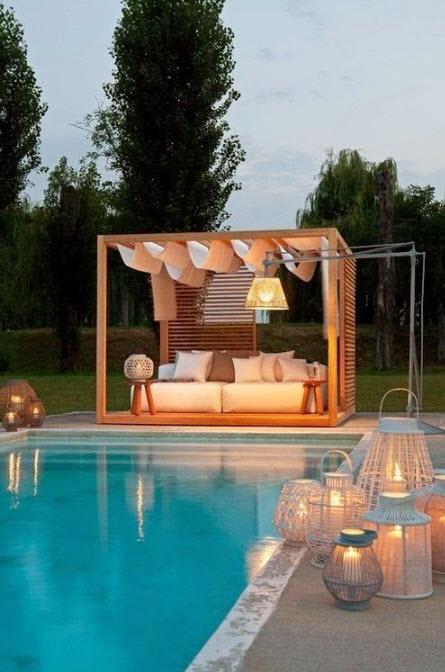 Pool Cabana in Milton FL