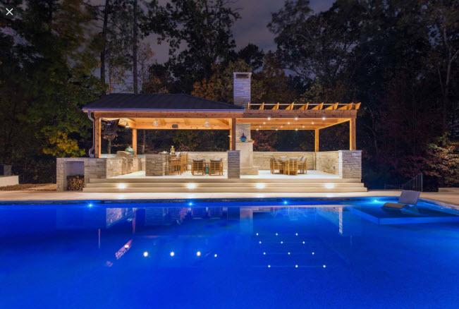 Pool Cabana in Pensacola FL